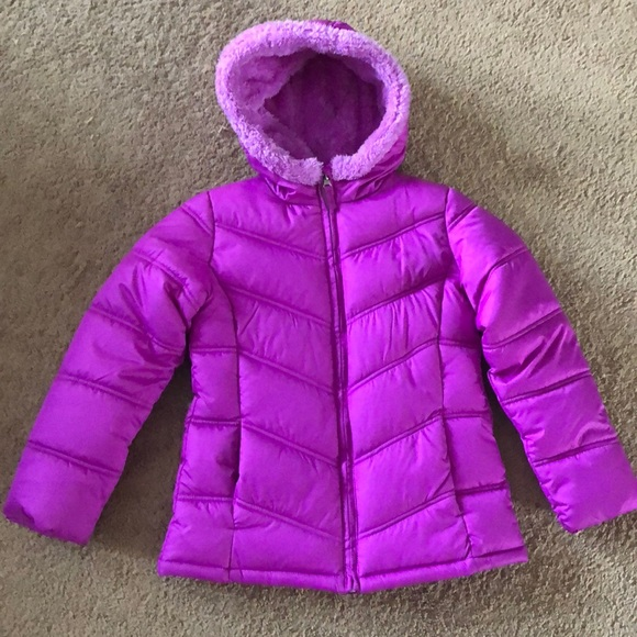 80fd4977774c another chance 4ef33 7a642 euc faded glory black puffer coat toddler ...